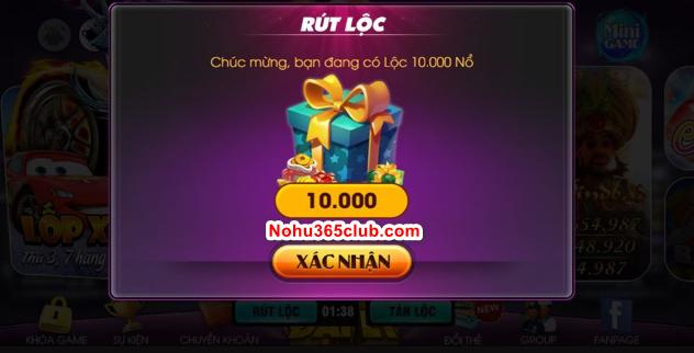 Hình ảnh nohu365 code in Tặng giftcode nổ hũ 365 club mới nhất giá trị 200k nổ